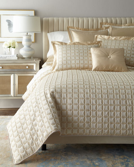 Dian Austin Couture Home Circumference Queen Coverlet