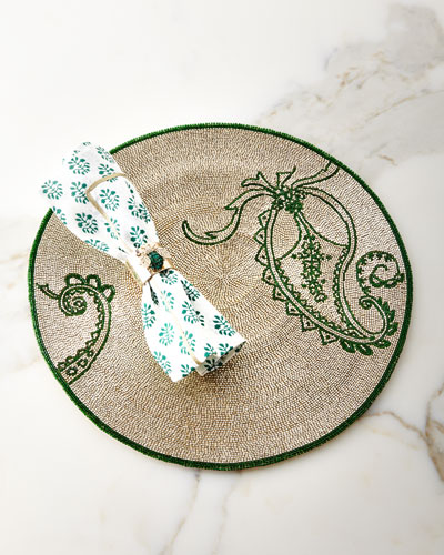 Paisley Placemat  and Matching Items