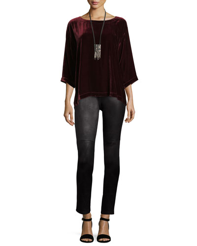 Organic Soft Stretch Skinny Jeans, Indigo and Matching Items, Petite