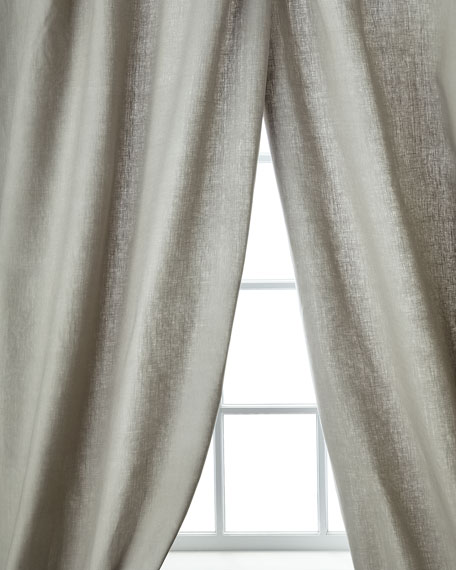 "Home Silks Skye Curtain Panels, 96""L"
