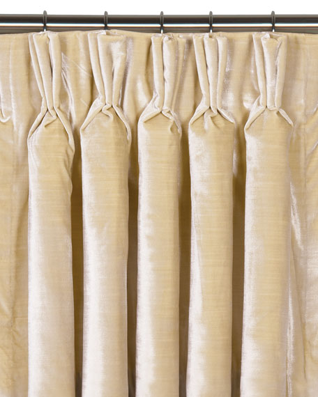 "Eastern Accents Winchester Pinch Pleat Curtain Panel, 108""L"