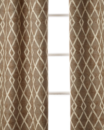 Argyle Curtain  96L  and Matching Items