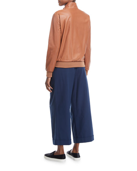 Kilian Cropped Wide-Leg Pants