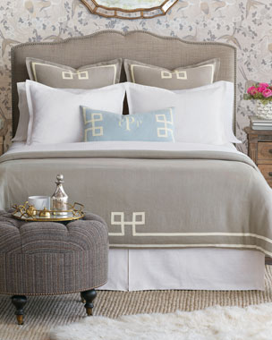 9a11ca4594 Eastern Accents Resort Fret Oversized King Duvet Resort Fret Oversized Queen  Duvet