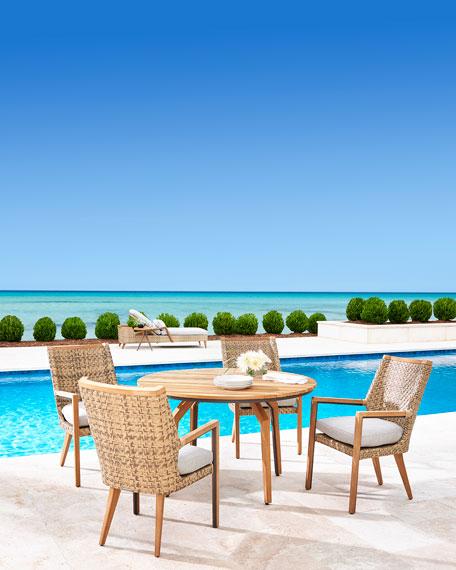 Lane Venture Cote d'Azur Round Dining Table