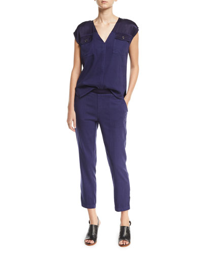 Santucci Twill Top, Plus Size and Matching Items