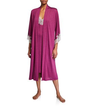 Natori Luxe Shangri-La Knit Robe Luxe Shangri-La Nightgown 11a41d1c0