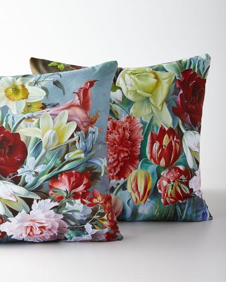 Regal Carnation Pillow