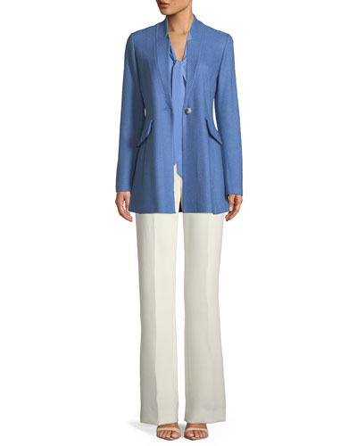 Bella Mid-Rise Double Weave Pants  and Matching Items