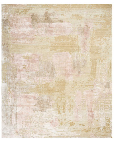 Mirage Shale Hand-Knotted Rug  8' x 10' and Matching Items