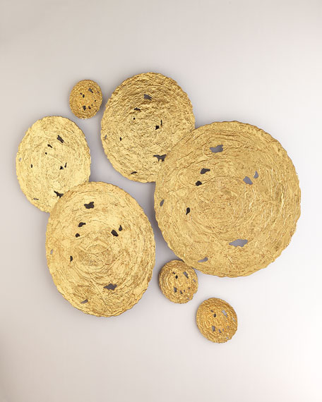 The Phillips Collection Large Gold Circle Wall Decor