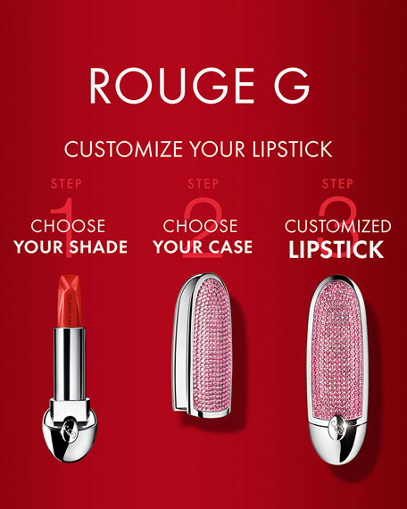 Rouge G Customizable Lipstick – The Mirror Case