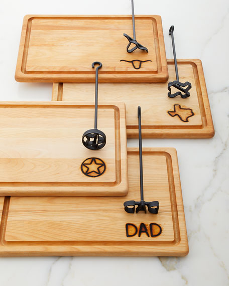 Steak Brand with Dad Carving Board