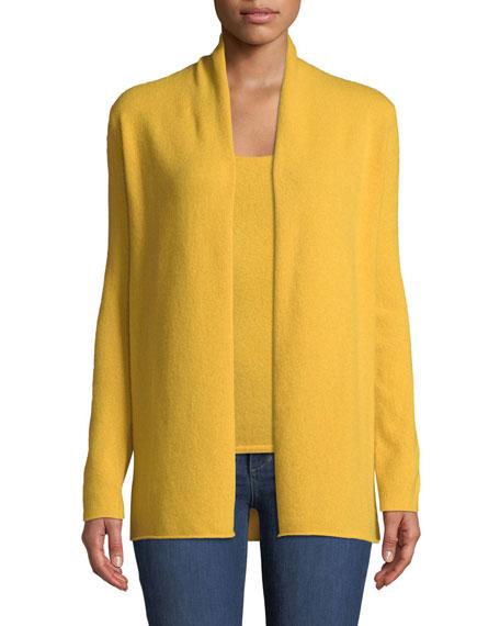Cashmere Draped Cardigan, Plus Size