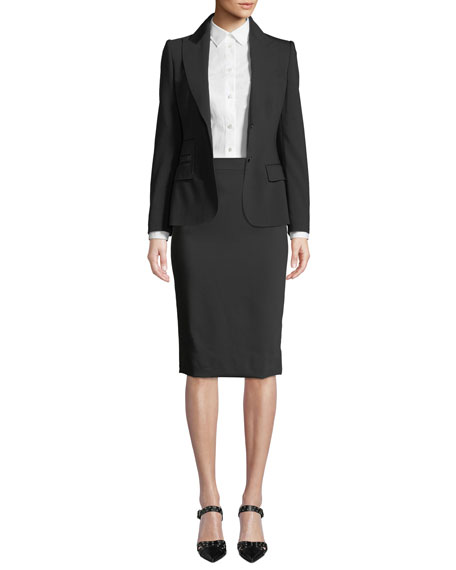 Dolce & Gabbana Turlington Two-Button Jacket