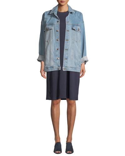 Sleeveless Knit Dress and Matching Items, Petite
