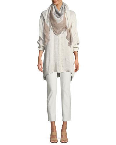 Silk Doupioni Long Shirt  and Matching Items