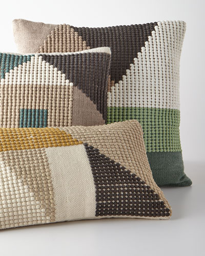 Geo-Shape Colorblocked Pillow and Matching Items