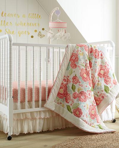 Charlotte 5-Piece Crib Bedding Set  and Matching Items