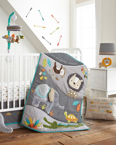 Zambezi 5-Piece Crib Bedding Set  and Matching Items