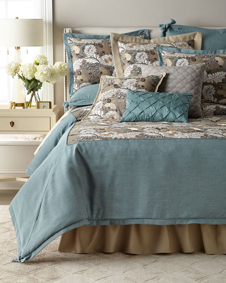 Austin Horn Collection Camellia 3-Piece King Comforter Set