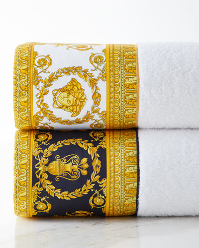 Baroque Border Large Bath Towel  and Matching Items