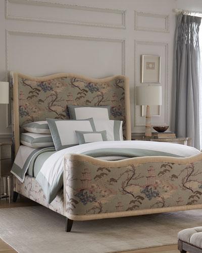 Modern Sateen Applique Full/Queen Duvet Cover   and Matching Items