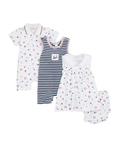 Summer Sails Terry Playsuit  Size 3-24 Months  and Matching Items
