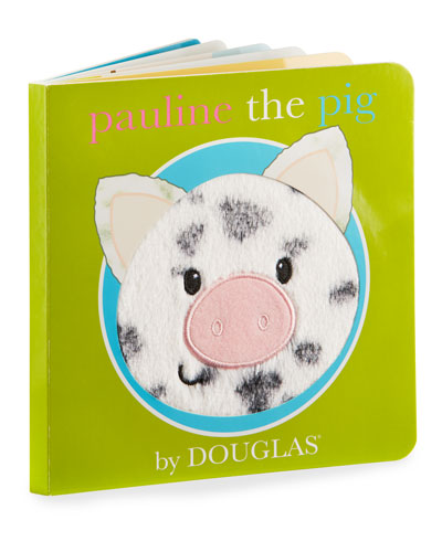 Pauline The Pig Children's Board Book and Toys