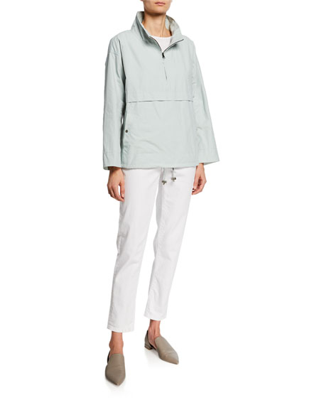 Eileen Fisher Organic Cotton Slub Tee Shirt