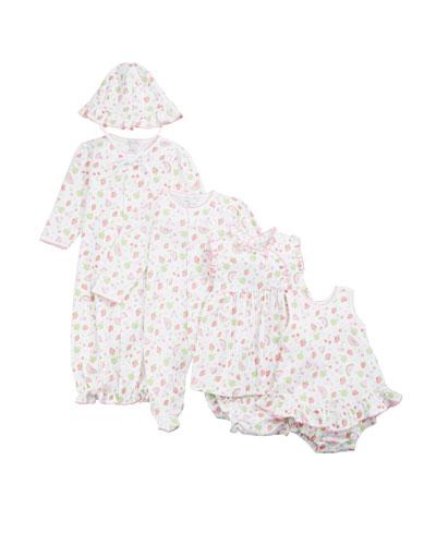Tutti Frutti Pima Convertible Gown  Size Newborn-S  and Matching Items