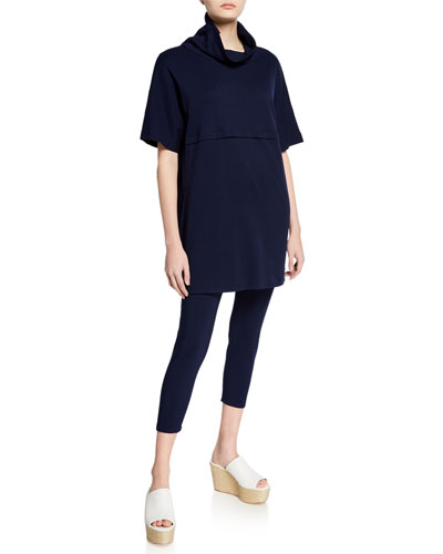 Cowl-Neck Pocket Tunic and Matching Items
