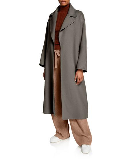 Loro Piana Raiden Baby Cashmere Wrap Coat