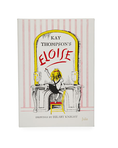 """Graphic Image """"Eloise"""" Children's Book by Kay Thompson, Personalized"""