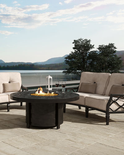 Classical Fire Pit Table  and Matching Items
