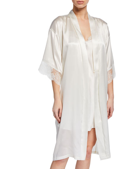 Lise Charmel Virtouse Short Satin Robe
