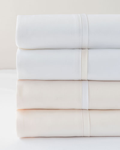 Estate Pair of Standard Pillowcases  White/Ivory  and Matching Items