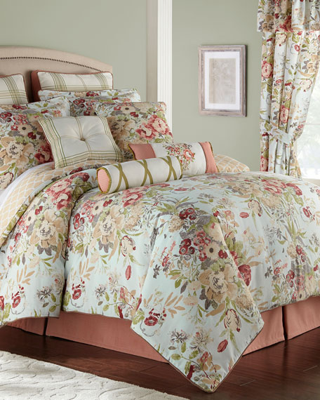 Rose Tree Lorraine 4-Piece King Comforter Set
