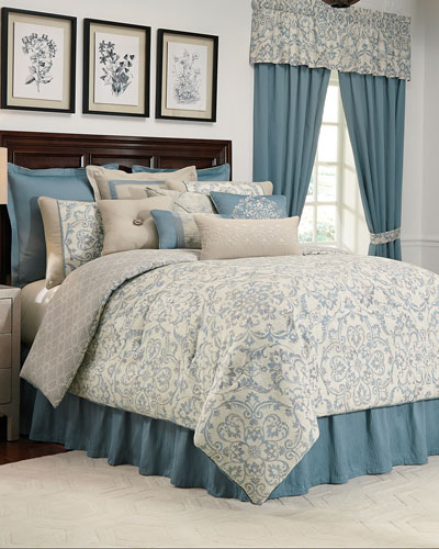 Placio 4-Piece Queen Comforter Set  and Matching Items