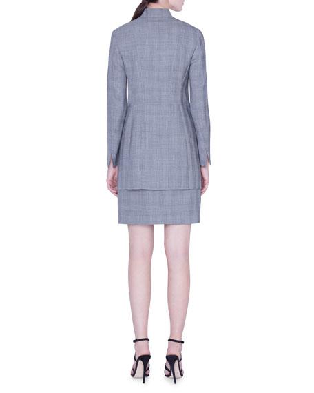 Akris Dalma Check Wool Jacket