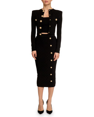 99a5ba444608b Balmain Women's Clothing at Neiman Marcus