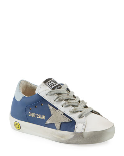 Superstar Leather & Suede Low-Top Sneakers  Baby/Toddler and Matching Items