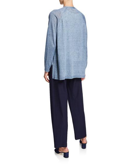 Eileen Fisher Organic Linen Delave Cardigan