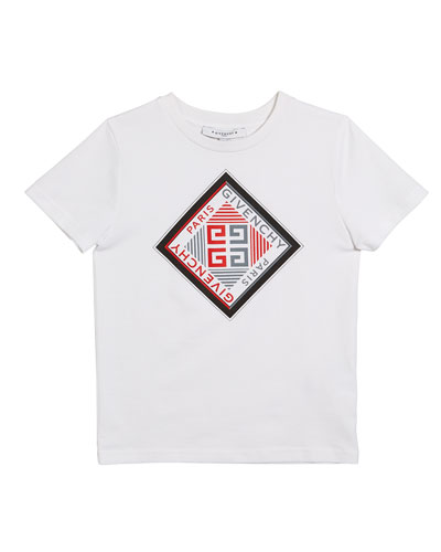 Boy's Short-Sleeve Logo Graphic Tee  Size 4-10  and Matching Items