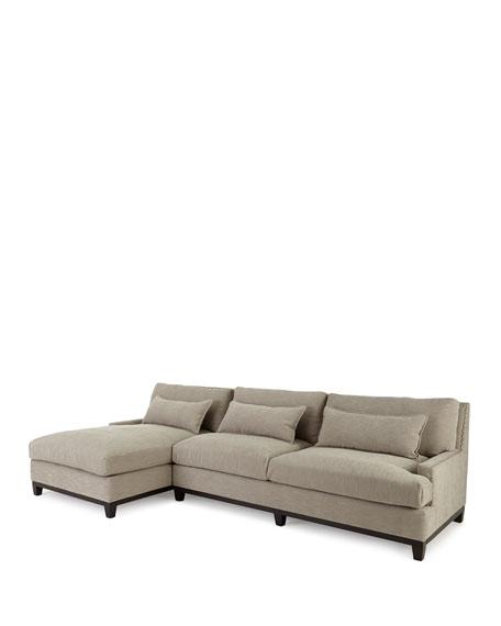 "Rena Right-Facing Sectional Sofa 129.5"""