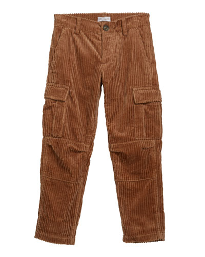 Boy's Corduroy Cargo Pants  Size 4-6 and Matching Items