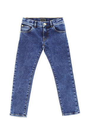 Versace Boy's Denim Jeans, Size 4-6