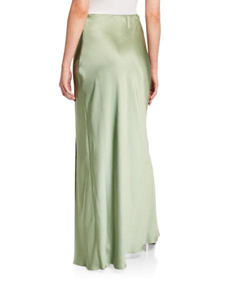 Sablyn Isabella Silk Skirt with Slit