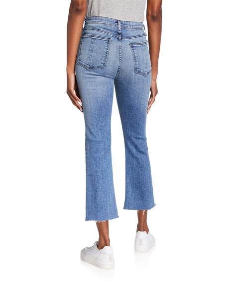 Image 3 of 4: Rag & Bone Nina High-Rise Ankle Flare Jeans