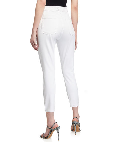 Image 2 of 4: Jen7 by 7 for All Mankind Cropped Skinny Jeans
